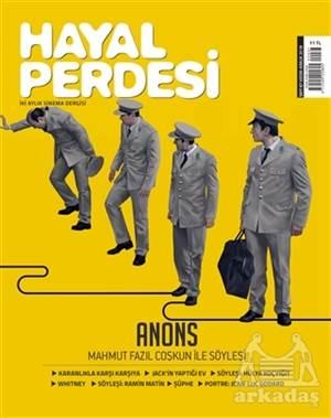 Hayal Perdesi İki Aylık Sinema Dergisi Sayı: 67 Kasım-Aralık 2018