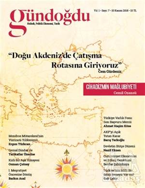 Gündoğdu Dergisi Sayı: 7 Kasım 2018
