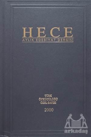 Hece Aylık Edebiyat Dergisi Türk Öykücülüğü Özel Sayısı 2000