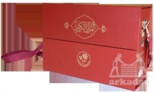 Kur'an-I Kerim Hatim Seti (Bordo)