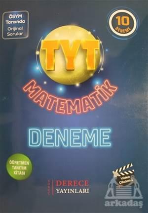 TYT Matematik 10 Deneme - Öğretmen Tanıtım Kitabı