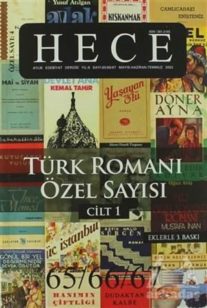 Hece Aylık Edebiyat Dergisi Sayı: 4 - Türk Romanı Özel Sayısı 65/66/67 (2 Cilt Takım)