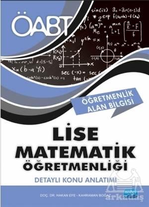 2018 ÖABT Lise Matematik Öğretmenliği - Detaylı Konu Anlatımı