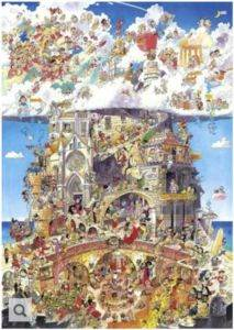 Heye Heaven and <br/>Hell Puzzle 1 ...