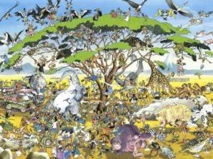 Heye Puzzle <br/>Safari 1500 parça