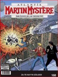 Martin Mystere 168 Zatenayın Gölgesi