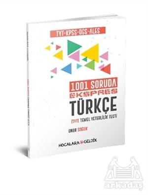 2019 TYT KPSS DGS ALES 1001 Soruda Ekspres Türkçe