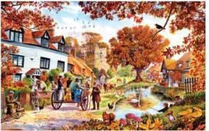 Village İn Autumn