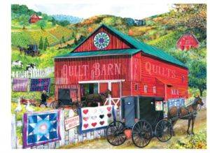 Stopping At The <br/>Quilt Barn