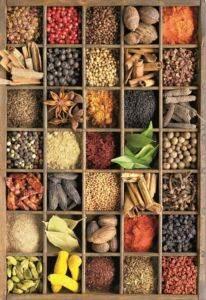 Educa Spices <br/>Puzzle 1000 Parça