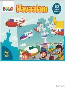 Eolo 60 Parça Puzzle Havaalanı