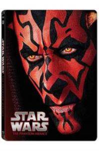 Star Wars Ep. I The Phantom Menace Limited Edition Steel Book