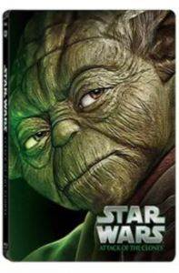 Star Wars Ep. II Attack Of The Clones Limited Edition Steel Book