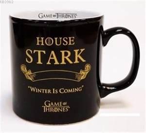 Game Of Thrones Siyah Kupa - Gold Stark