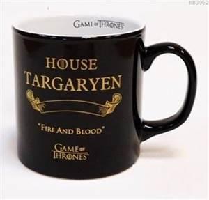 Game Of Thrones Siyah Kupa - Gold Targaryen