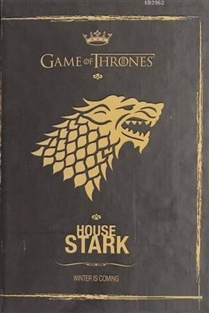 Game Of Thrones Gold Defter - House Stark