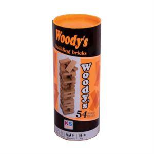 Woody'S 54 Parça Denge Oyunu Silindir Kutu