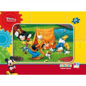 Mickey Mouse Frame Puzzle 24