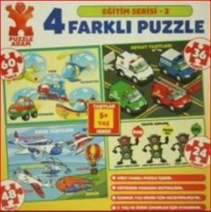 Taşıtlar-40854 <br/>Puzzle  3+ Yaş