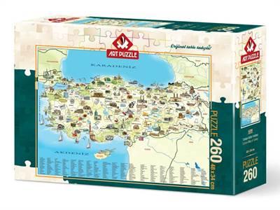 Türkiye Kültür Haritası (34X48)