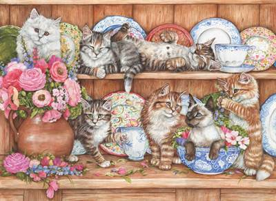Anatolian  Yavru Kediler Puzzle 1000  Parça