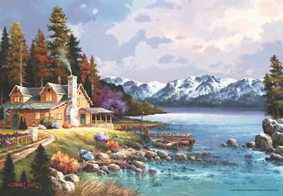 Anatolian Dağ Evi<br/>Puzzle 500 Parça