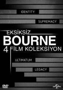 Bourne 4 Film Dvd  ...
