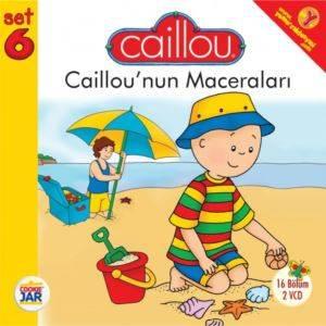 Caillou 'nun Macareları Set 6