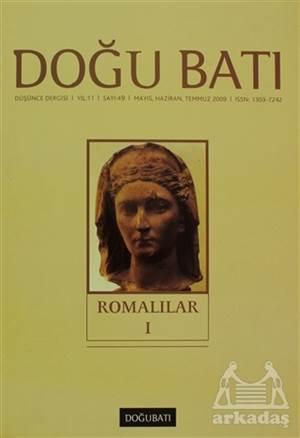 Doğu Batı Düşünce Dergisi Sayı: 49 Romalılar 1