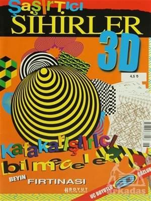 3D Çocuk Dergisi - Şaşırtıcı Sihirler