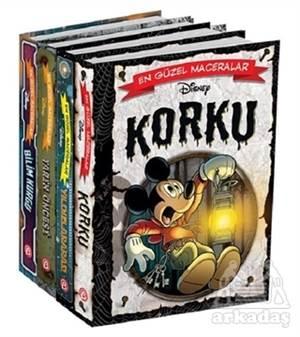 Disney En Güzel Maceralar Serisi (4 Kitap)