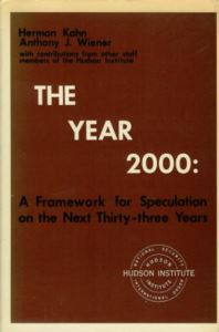 The Year 2000: A Framework For Speculation On The Next Thirty-Three Years
