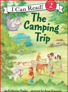 Pony Scouts: The Camping Trip (I Can Read, Level 2)
