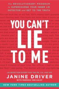 You Can't Lie To Me (Int. Ed.)