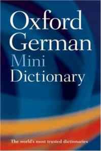Oxford German Minidictionary