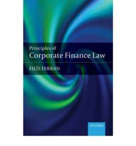 PRINCIPLES OF CORPORATE FINANCE LAW P MPG: AE