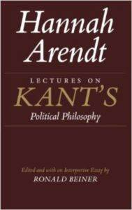 Lectures on Kant's ...