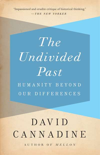 The undivided past : humanity beyond our differences