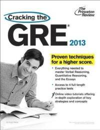 Cracking the GRE,  ...