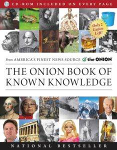 The Onion Book of Known Knowledge (paperback)