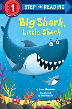 Big Shark, Little Shark (Step Into Reading, Step 1)