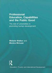 Professional Education, Capabilities and Contributions to the Public Good: The Role of Uni