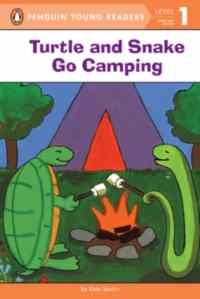 Turtle and Snake Go Camping (Young Readers, Level 1)
