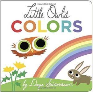 Little Owl's Colours