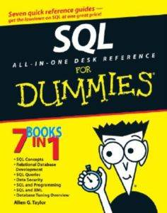 SQL All-in-One Des ...