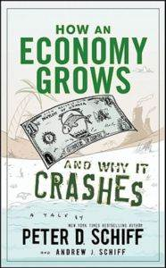 How an Economy Grows and Why it Crashes?