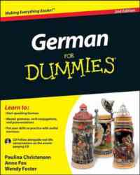 German For Dummies 2Nd Ed. (With CD)