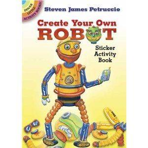 Create Your Own Robot Sticker Book