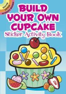 Build Your Own Cupcake Sticker Book