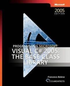 Programming Visual ...